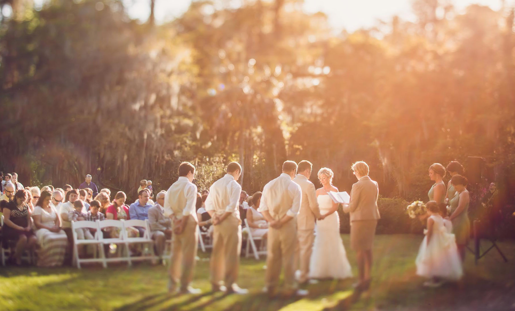 Photography of Charleston Wedding Ceremonies