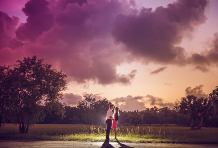 Thomas and Becky's Boone Hall Engagement
