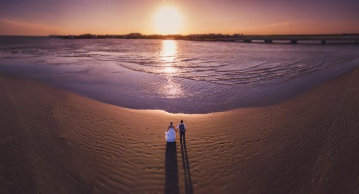 Charleston Wedding Photographer Drone Shot