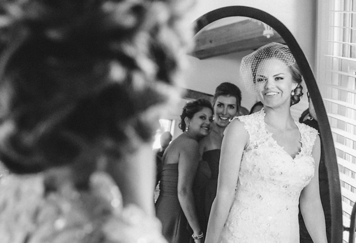 Whitney and John's Carriage House Wedding