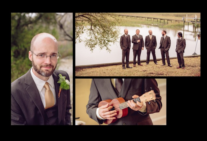 Portraits of the Groomsmen