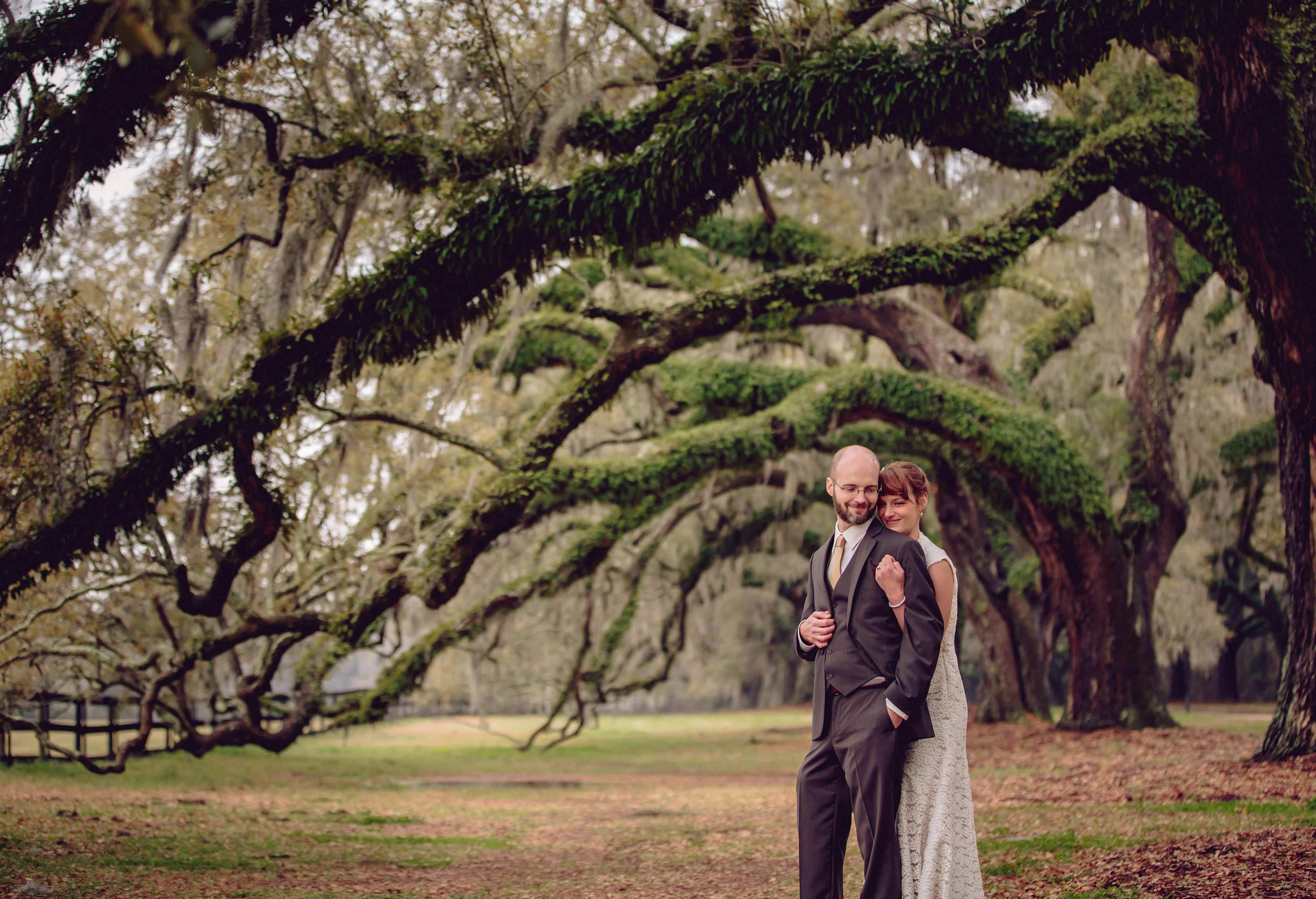 Under the Oaks at Boone Hall Plantation