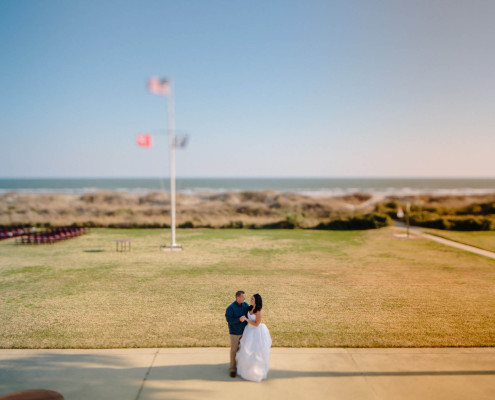 Wedding at Citadel Beach House