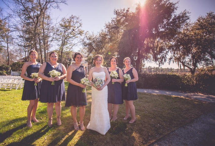 Portraits of the Bridesmaids