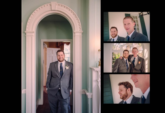 Groom's Pictures in Lowndes Grove Plantation House
