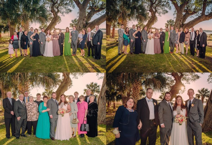 Family Portraits by the Water at Lowndes Grove
