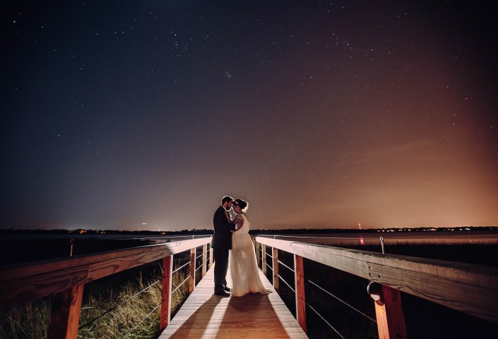 Under the Stars on the Lowndes Grove Pier