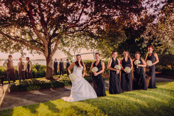 Wedding Party at Harborside East