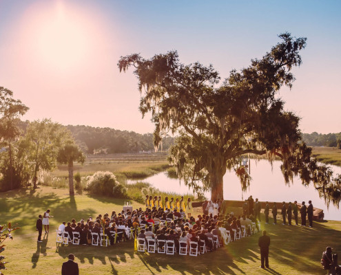 Ceremony at Dunes West