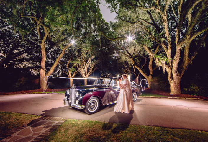 Lowndes Grove Plantation and Rolls Royce