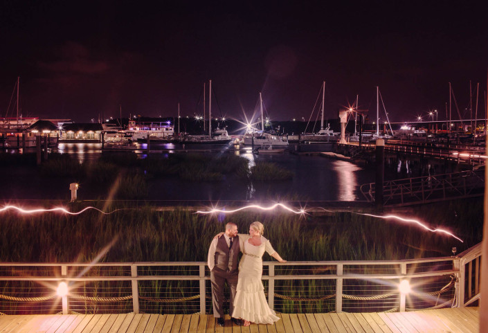 Wedding at St. Lukes and Reception at Charleston Yacht Club