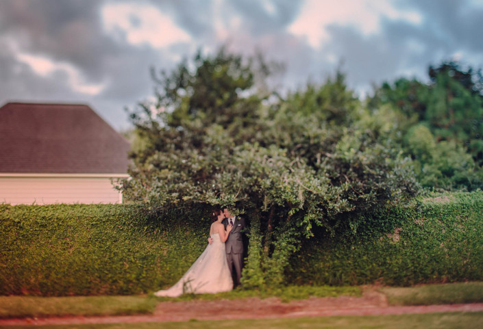 Croquette Lawn Wedding at Dunes West