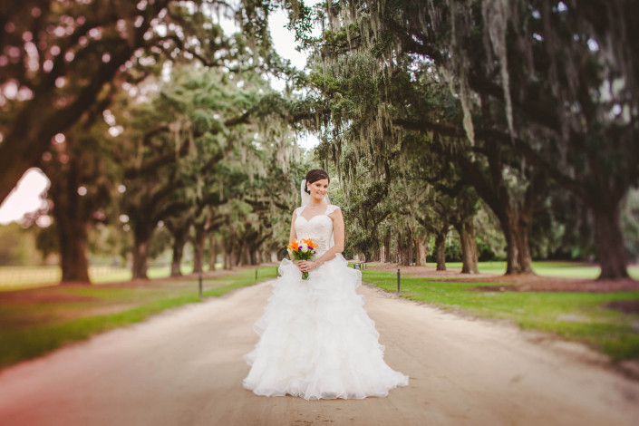 Boone Hall Plantation Bridal