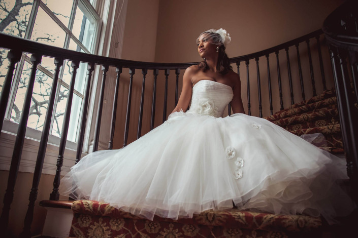 Bridal in the Thomas Bennett House