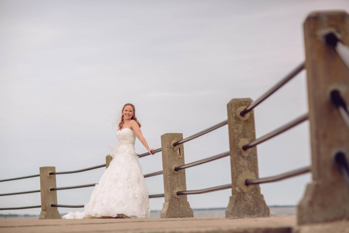 Charleston Battery Bridal Portrait