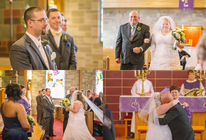 Down the Aisle at Advent Lutheran