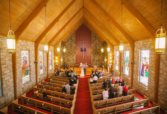 Wedding at Advent Lutheran