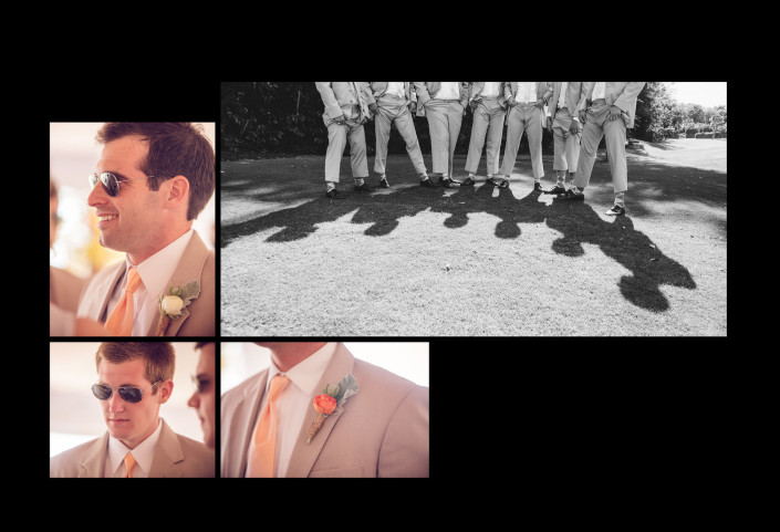 Portraits of Groomsmen