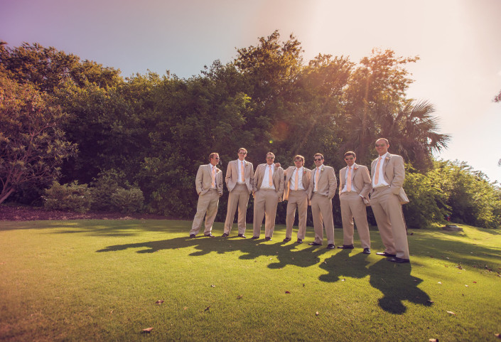 Groomsmen on the Green