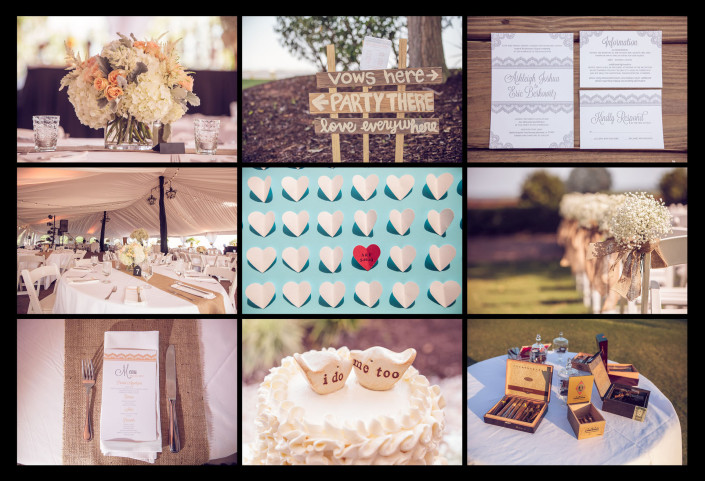Ceremony and Reception Details