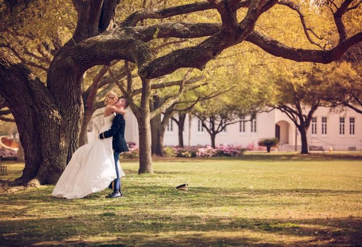Bride and Groom at Citadel