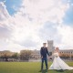 Bride and Groom on Parade Grounds