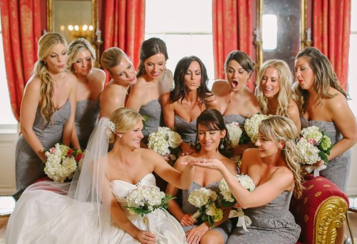 Bridesmaids Gushing