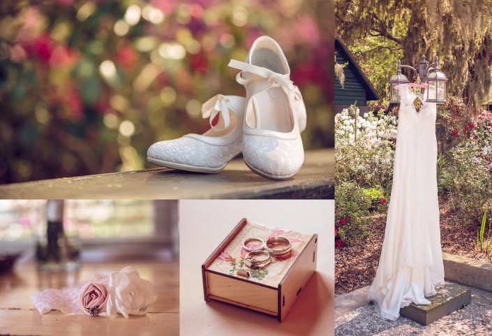 Shoes Rings and Dress