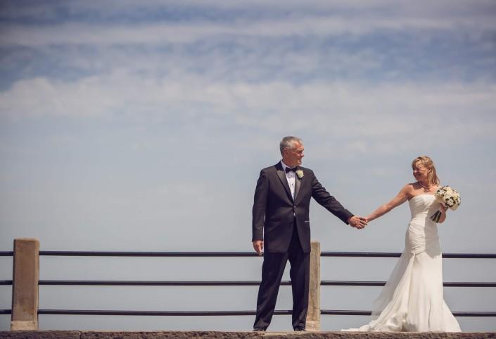 Wedding Photography at the Charleston Battery