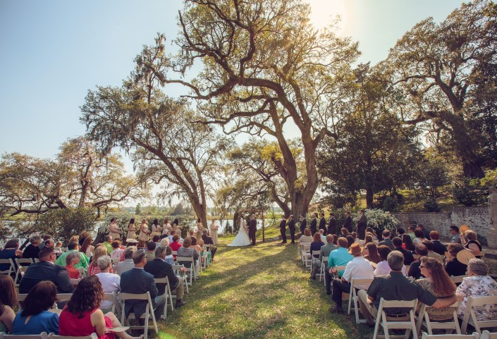 Wedding Ceremony at Mepkin Abbey