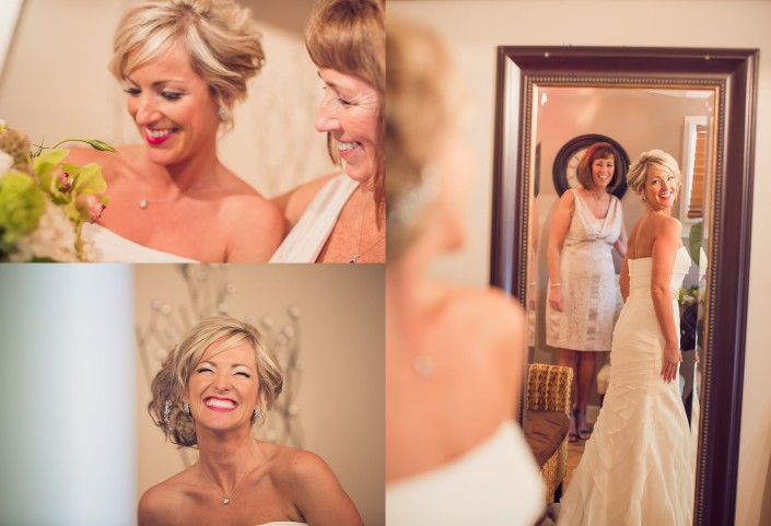 Getting Ready in the Plantation house bridal suite