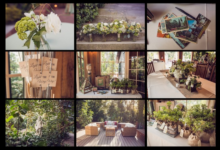 Reception in Magnolia Plantation Conservatory