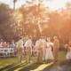Wedding Ceremony on White Bridge Lawn