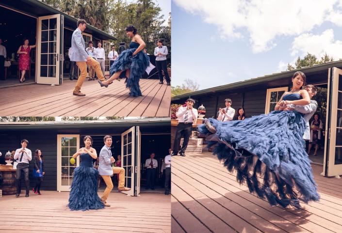 Swinging the Bride