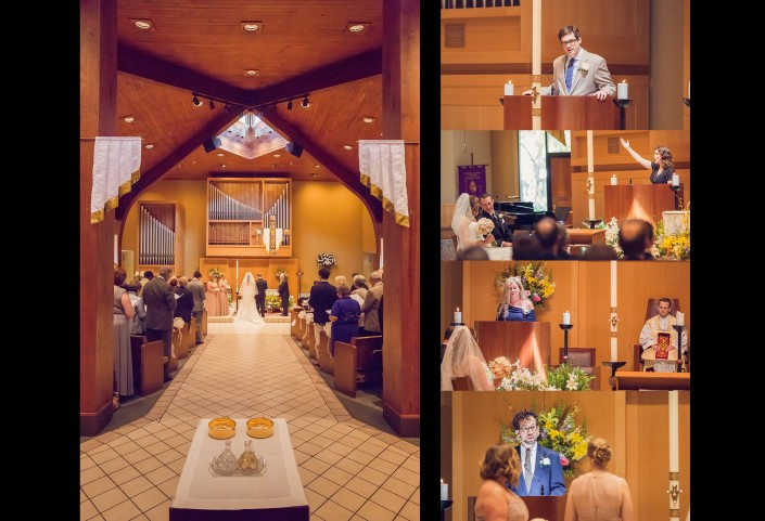 Ceremony at Christ our King Church