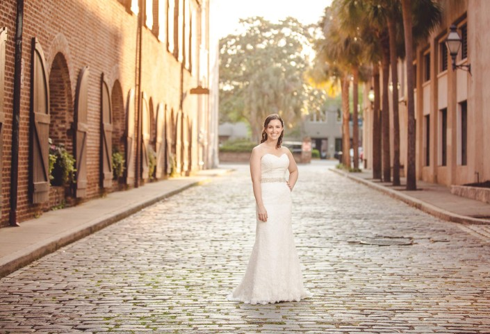 Downtown Bridal Portrait