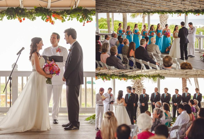 Ceremony in Wild Dunes Grand Pavilion
