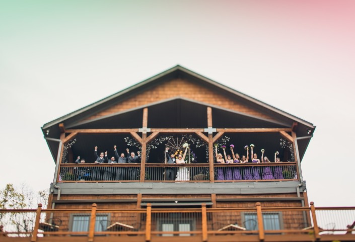 The Wedding Pavilion at Wolf Mounatin