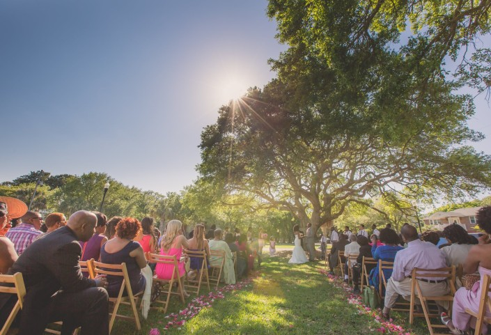 Wedding Ceremony at the Sand Dunes Club