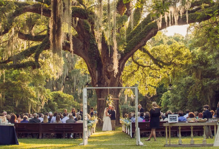 Charlestowne Landing Wedding Oak
