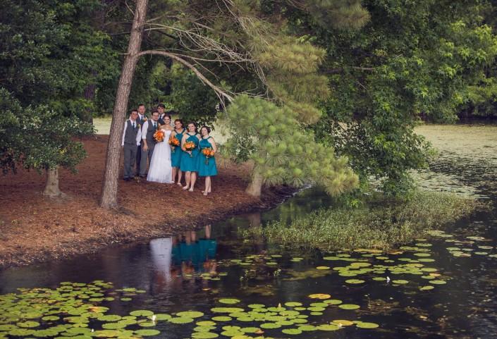 Wedding Island at the Lake House at Bulow