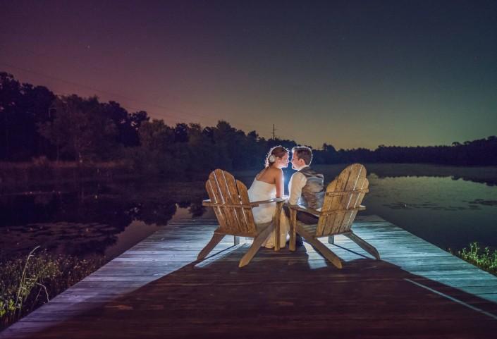 Evening at the Lake House at Bulow