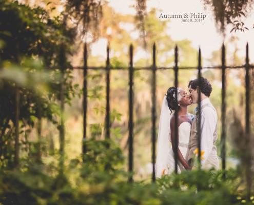 Romance at Magnolia Plantation Wedding
