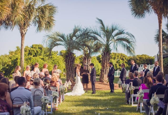Wild Dunes Croquet Lawn Wedding