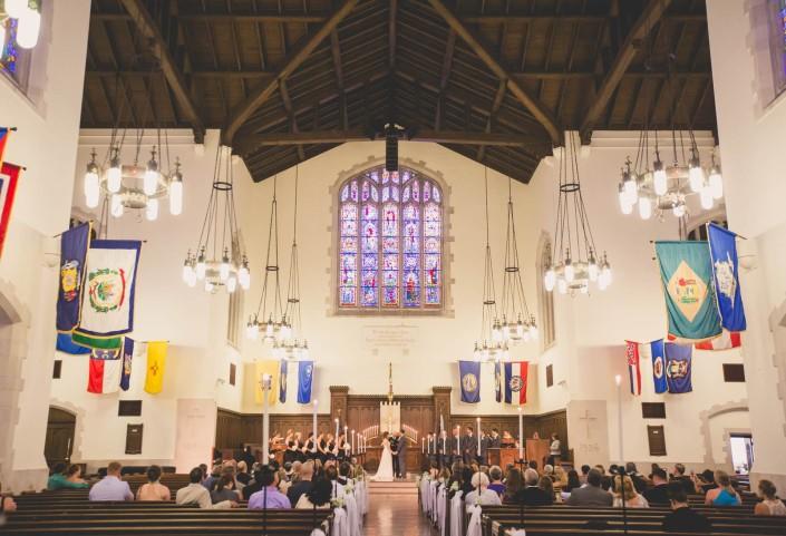 Inside Summerall Chapel
