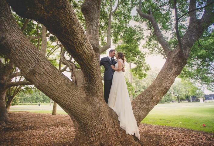 Hampton Park Wedding in Summer