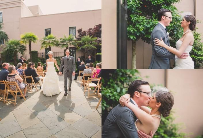 Planters Inn, Charleston SC Wedding Ceremony