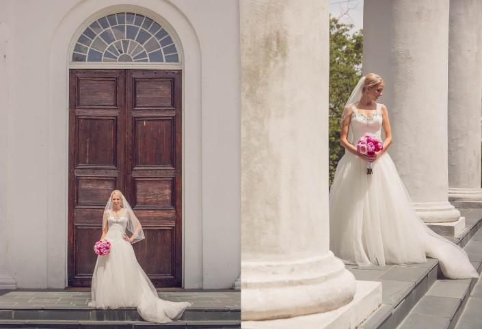 Bridal Portrait at Second Presbyterian