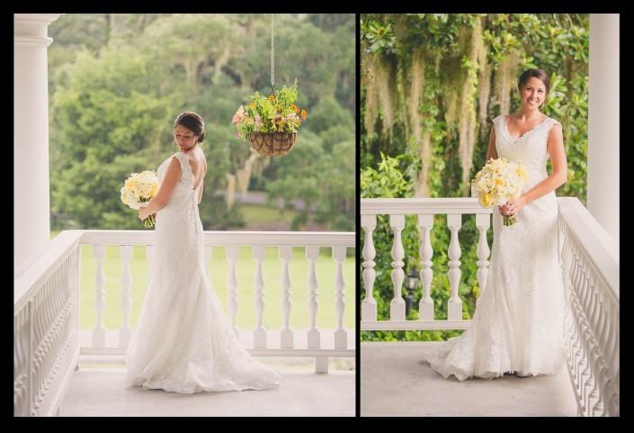 Bridals on the Veranda at Magnolia Plantation