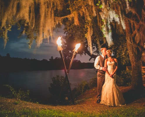 Magnolia Plantation Conservatory Wedding